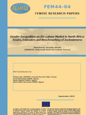 FEMISE Research Paper FEM44-04 - Gender inequalities on the labour market in North Africa