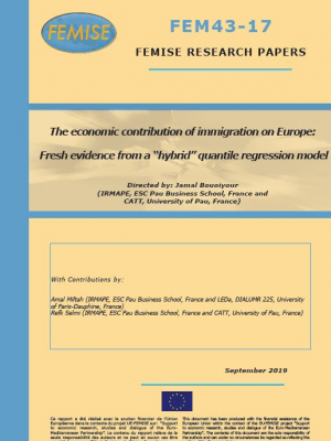 "FEMISE Research Paper FEM43-17 – The economic contribution of immigration on Europe: Fresh evidence from a ""hybrid"" quantile regression model"