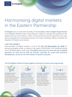 Harmonising digital markets in the Eastern Partnership