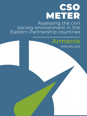 CSO METER: Assessing the civil society environment in the Eastern Partnership countries: Armenia 2019