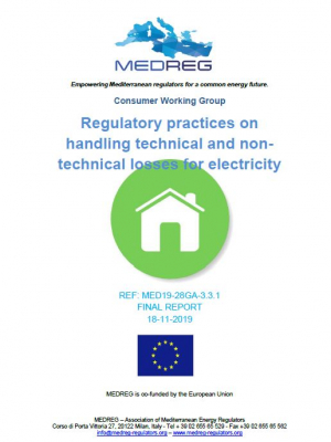 MEDREG Consumer Working Group – Regulatory practices on handling technical and non-technical losses for electricity