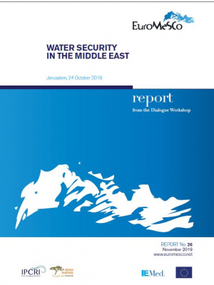 Euromesco report n°26 : Water security in the Middle East