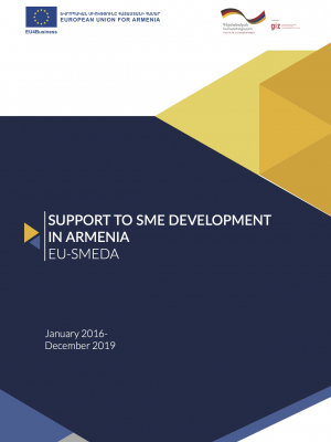 Support to SME Development in Armenia (EU-SMEDA) - final report