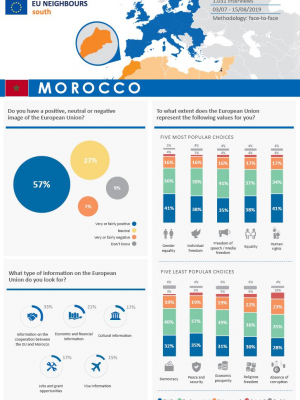 Opinion Poll 2019 - Morocco (factsheet)