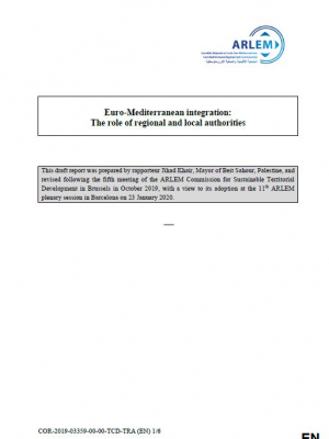 Euro-Mediterranean integration: The role of regional and local authorities
