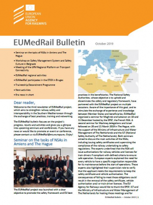 EuMedRail Bulletin October 2019