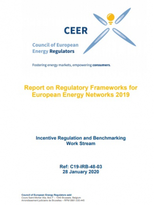CEER Report on Regulatory Frameworks for European Energy Networks