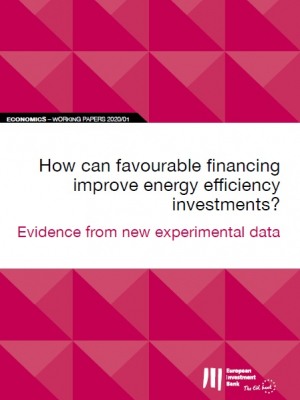 How can favorable financing improve energy efficiency investments?