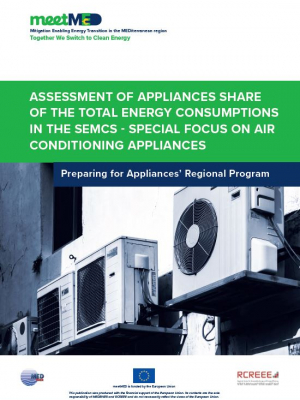 Assessment of appliances share of the total energy consumptions in the Southern and Eastern Mediterranean Countries – special focus on air conditioning appliances