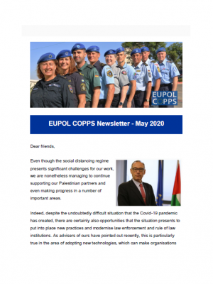 EUPOL COPPS newsletter – May 2020