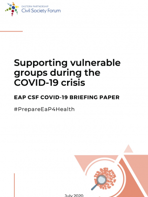 Supporting vulnerable groups during the COVID-19 crisis
