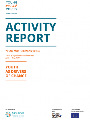 Young Mediterranean Voices : new activity report