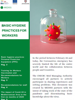 MEDISS handbook - Basic hygiene practices for workers