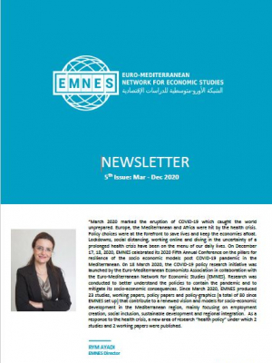 EMNES newsletter – Issue n°5 – December 2020