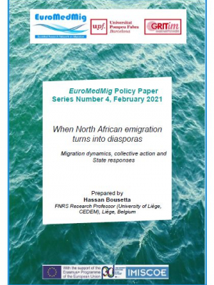 EuroMedMig Policy Paper (February 2021, n. 4) - When North African emigration turns into diasporas: Migration dynamics, collective action and State responses