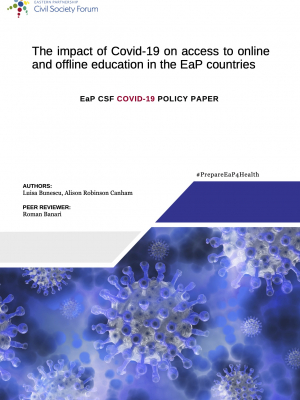 The impact of COVID-19 on access to online and offline education in the EaP countries