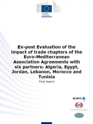 Ex-post evaluation of the impact of trade chapters of the Euro-Mediterranean Association Agreements with six partners: Algeria, Egypt, Jordan, Lebanon, Morocco and Tunisia