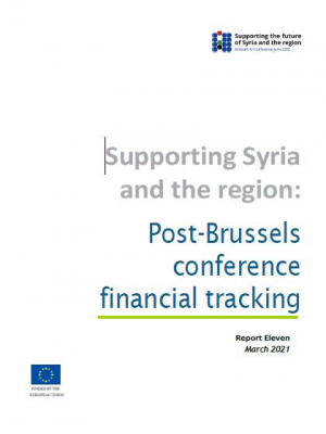 Supporting Syria and the region: Post-Brussels conference financial tracking – March 2021