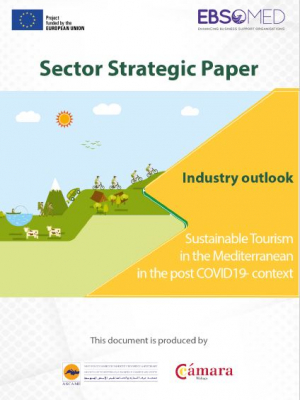 EBSOMED Sector Strategic Paper – Sustainable tourism in the Mediterranean in the post-COVID19 context