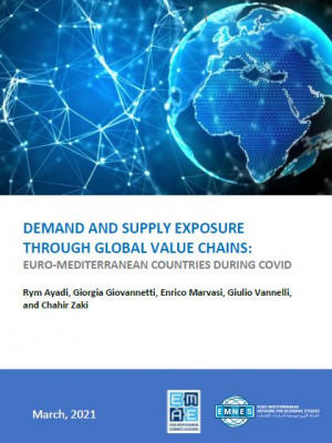 EMNES paper - Demand and supply exposure through global value chains : Euro-Mediterranean countries during Covid