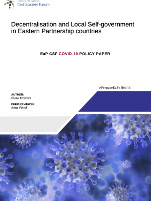 EaP CSF COVID-19 Policy Paper on Decentralisation and Local Self-Government in Eastern Partnership countries