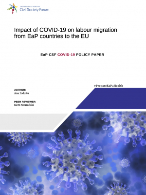 EaP CSF Policy paper: Impact of COVID-19 on Labour Migration from the EaP countries to the EU