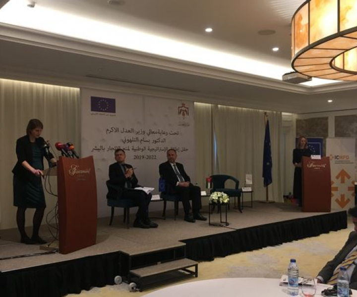 Jordan launches new National Strategy and Action Plan to Prevent Human Trafficking with EU support