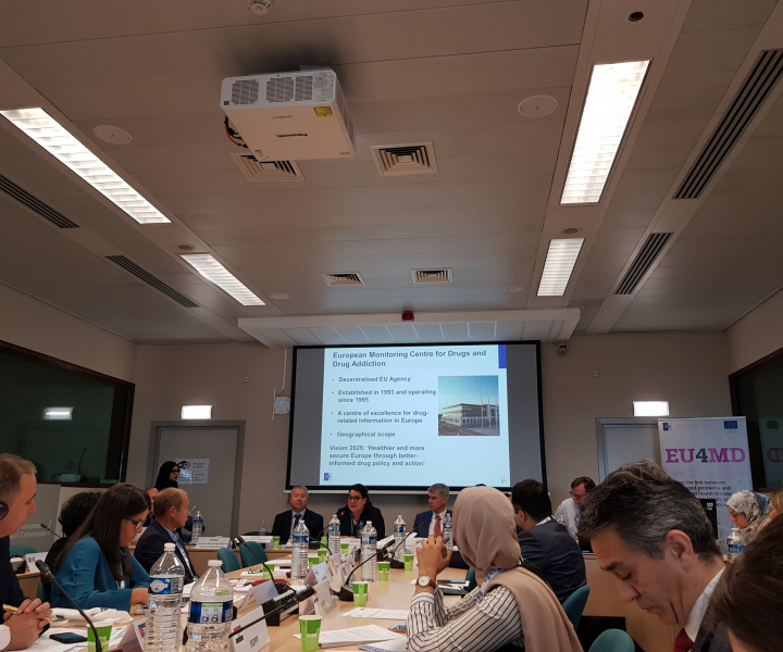 first Advisory committee meeting EMCDDA EU4Monitoring Drugs