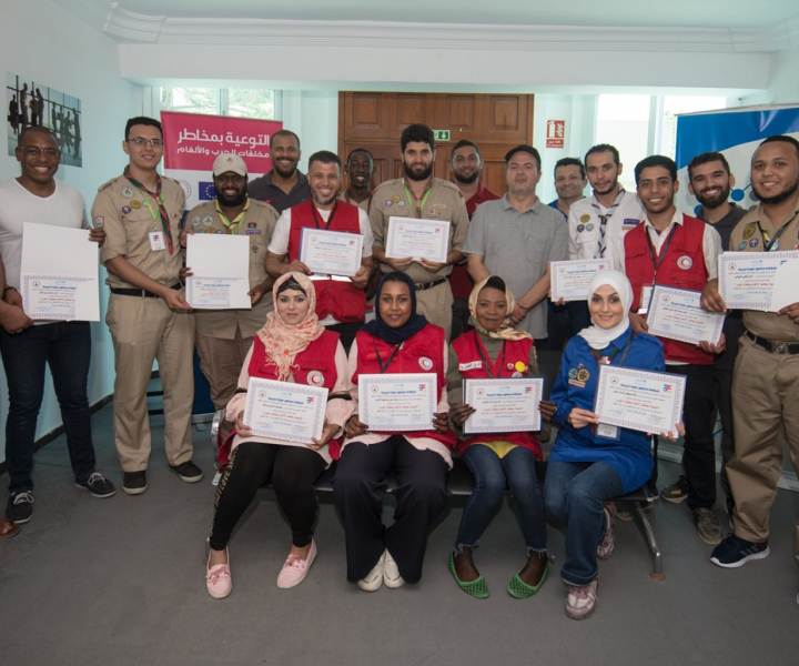 Libya: EU funds training on delivering mine risk education