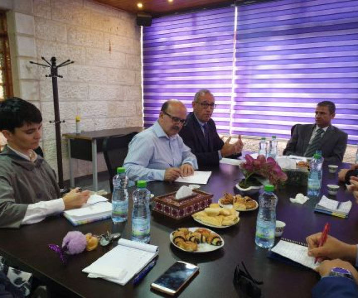 Head of EU Police and Rule of Law Mission first meeting with the newly appointed Director of the Palestinian Judicial Institute