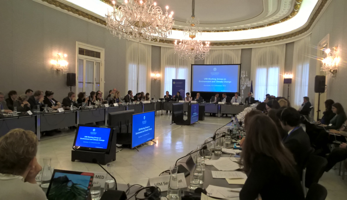 2nd UfM Working Group on Environment and Climate change on 12 November in Barcelona