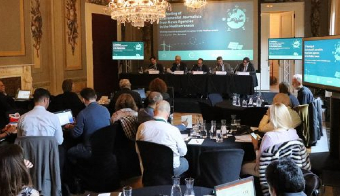 Journalists, scientists and experts meet to discuss environmental challenges in the Mediterranean