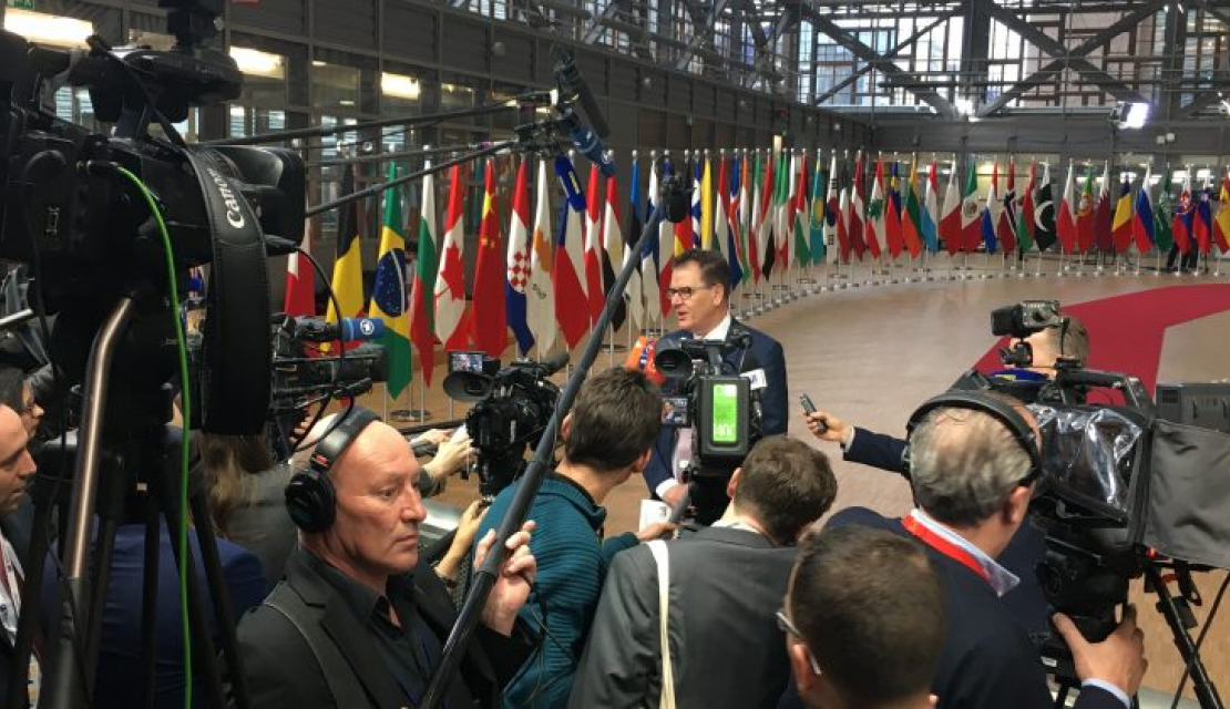 Middle-Eastern journalists covered Brussels Conference with EU-funded OPEN Media Hub assistance