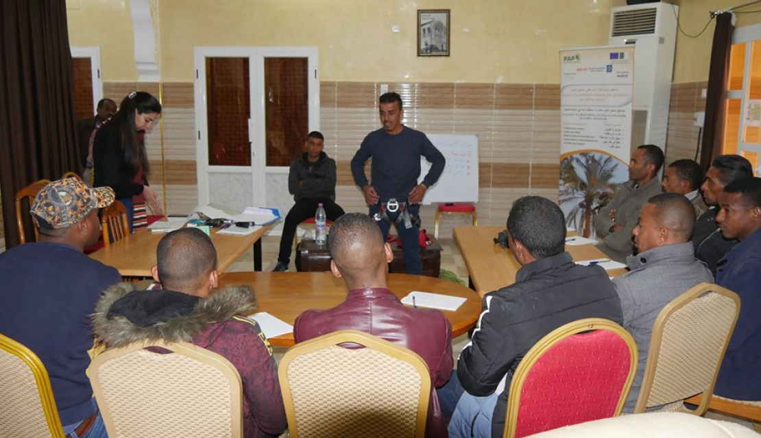 EU-funded PGP program training session