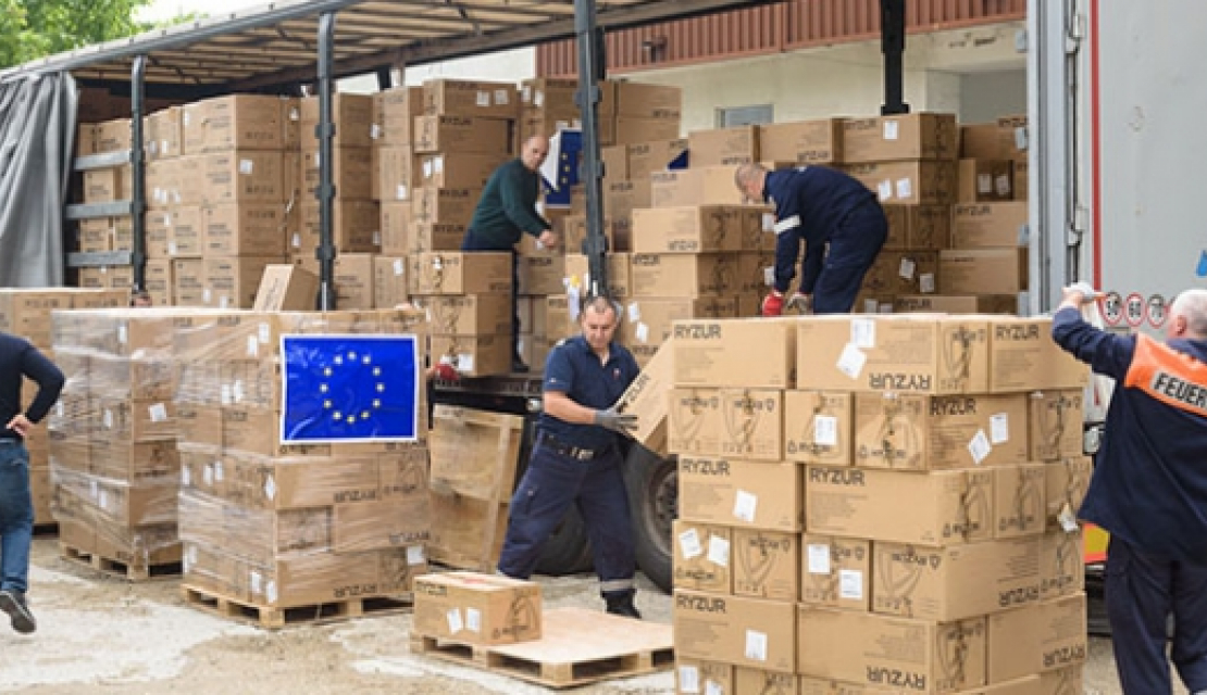 Coronavirus: EU funding for the transport of essential goods, medical teams and patients