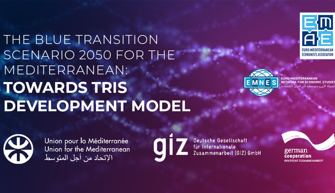 Euro-Mediterranean Network for Economic Studies to organize webinar on Blue Transition scenario in the Mediterranean