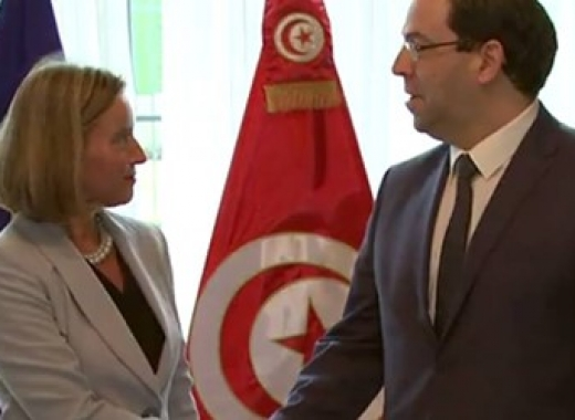 Federica Mogherini / Youssef Chahed