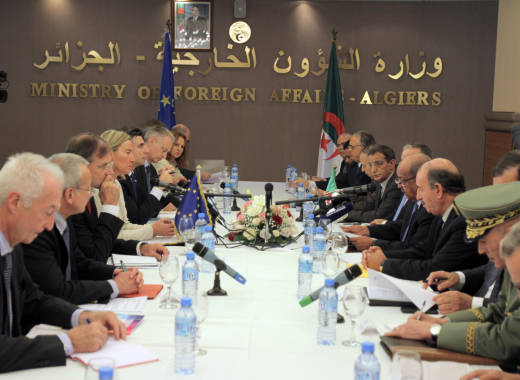 EU-Algeria high-level dialogue on regional security and the fight against terrorism