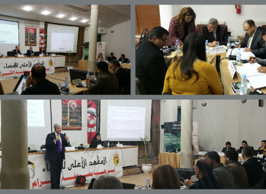 Tunisia: EU-funded CyberSouth project organises advanced judicial training on cybercrime and electronic evidence