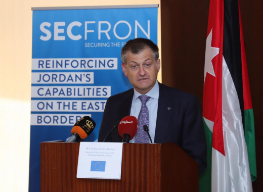 New EU project launched to reinforce Jordan's capabilities at the Eastern Borders