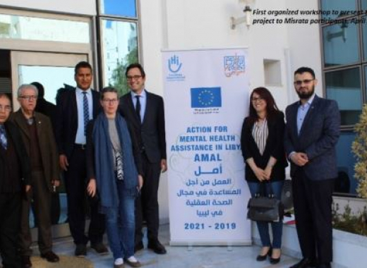 Launch of EU-funded mental health project in Libya