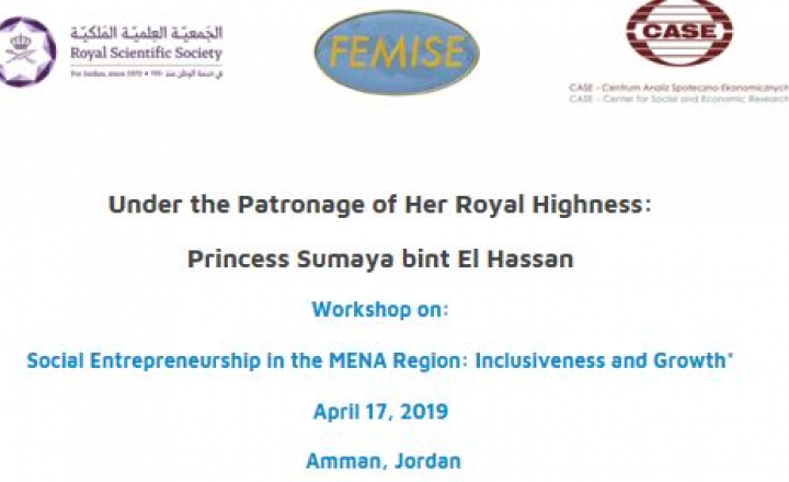 EU-funded FEMISE to hold workshop on social entrepreneurship in MENA region