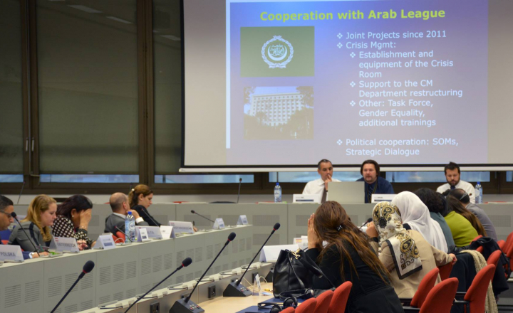 The European Union gives you a chance to learn, connect and make your voice heard on Euro-Arab dialogue