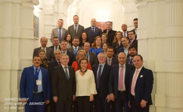 Euromed Justice meeting held to present two years of achievements in the field of international judicial cooperation in criminal matters