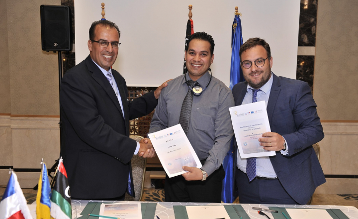 EU funds training to Libyan students