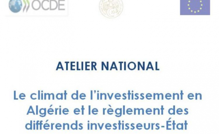 EU-OECD Programme on Promoting Investment in the Mediterranean: Investment climate in Algeria under debate