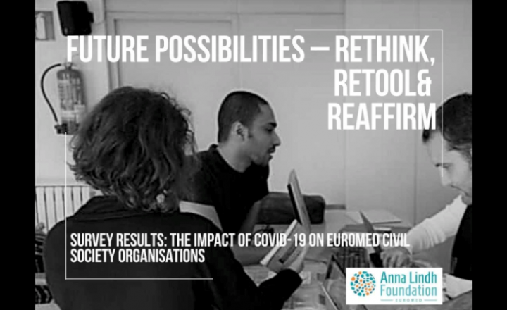 Results of the Anna Lindh Foundation survey on the impact of COVID-19 on euro-Mediterranean civil society organisations