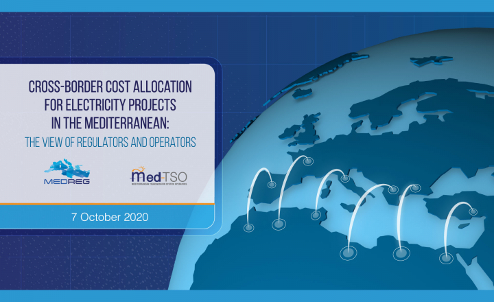 Joint EU-funded webinar to address cost allocation issues in the Mediterranean