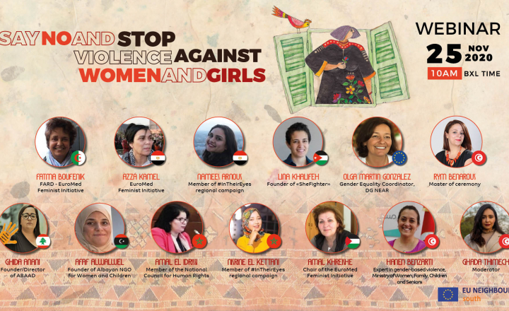 "Webinar ""Say No and Stop Violence Against Women and Girls"""