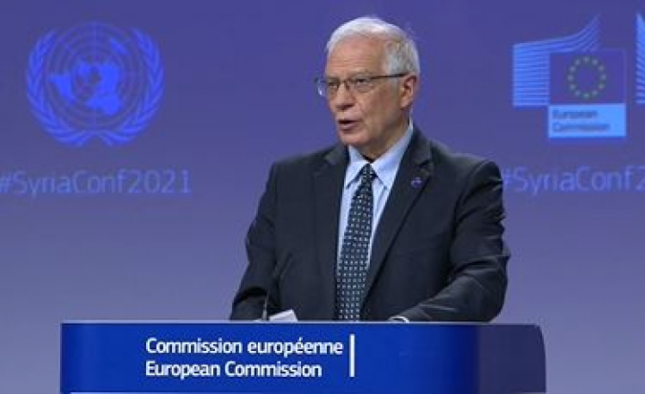 HR/VP Josep Borrell at fifth Brussels Conference on 'Supporting the future of Syria and the Region'